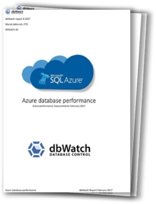 Azure Performance Report from dbWatch