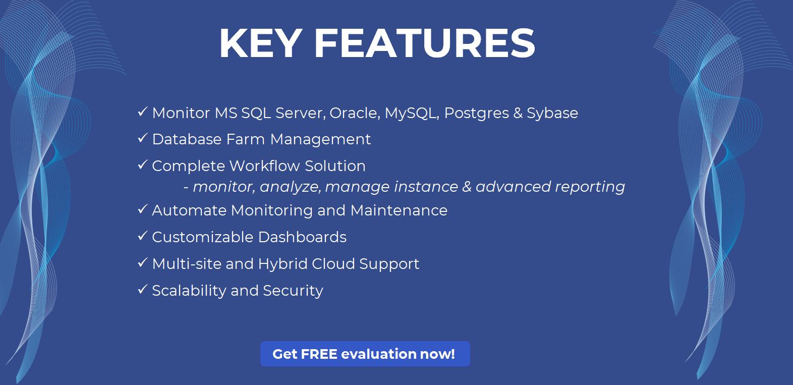 dbWatch Control Center Database Farm Management